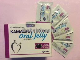 2 Box 100mg, Kamagra Oral jelly male sex drive Black Currant Flavor erections
