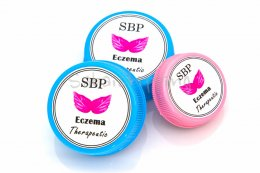 SBP GET RID OF ECZEMA THERAPEUTIC ONCE AND FOREVER VALUE SET 200 G.