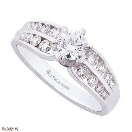 แหวนแต่งงานเพชรน้ำ 99