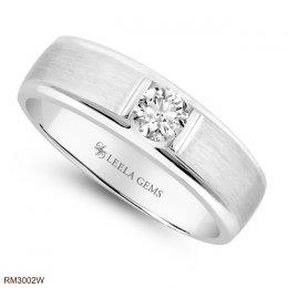แหวนชาย เพชรน้ำ100