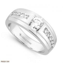 แหวนชาย เพชรน้ำร้อย