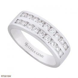 แหวนเพชร 2 แถว