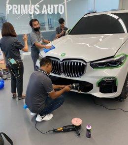 ทางบริษัทเข้าฝึกอบรมศูนย์รถยนต์ BMW ในประเทศไทย ด้วยนวัตกรรมเครื่องขัดสีรถ Shine Mate และน้ำยาขัดเคลือบสีรถ 3D USA