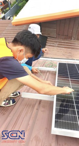Solar cell invt 3kw พร้อมขออนุญาตการไฟฟ้าขนานและขา