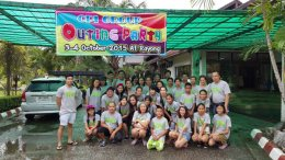 Party outing at Rayoung 2015