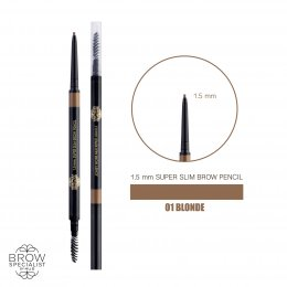 4U2 BROW SPECIALIST 1.5 mm. SUPER SLIM BROW PENCIL #01 BLOND