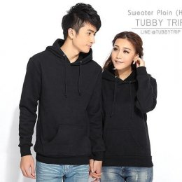 Sweater Plain Hood