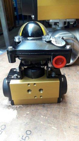 sirca pneumatic actuator limit switch box