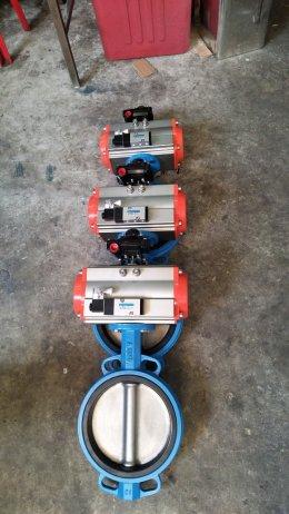 Batterfly valve + actuator