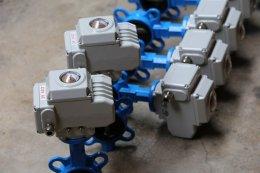 หัวขับไฟฟ้า butterfly valve
