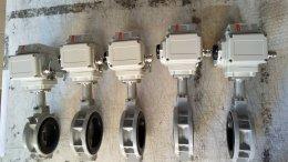 Butterfly valve  KITZ ประกอบ KL05S 220VAC