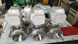 """motorized ball valves 3"""""""