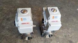 motorized ball Model:KL10S 220VAC valves stainless steel 3PC DN50