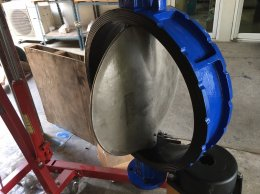 Butterfly valve with actuator Sirca AP10(sirca international s.p.a. italy)