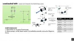 ใบงานที่ 7 Main valve Double Coli 5/2 ไปด้วยสวิทช์ปุ่มกด และกลับด้วยรีดสวิตซ์ (Reed switch)