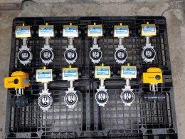 (SIRCA + kitz butterfly valve dj series aluminum body) (Motorized valve + Ball valve UPVC)