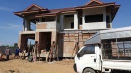 ผลงาน ดีดบ้าน บ้านปูน ก่อน ดีดบ้าน เเละ หลังดีดบ้าน