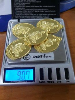 งานปั๊มเหรียญ เนื้อทองคำ