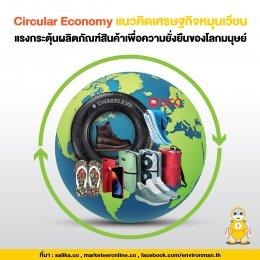 Circular Economy แนวคิดเศรษฐกิจหมุนเวียน แรงกระตุ้นผลิตภัณฑ์สินค้าเพื่อความยั่งยืนของโลกมนุษย์
