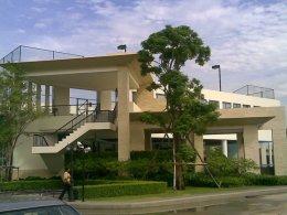อาคารคลับเฮาส์ GRAND CRYSTAL เลียบทางด่วนรามอินทรา กทม.