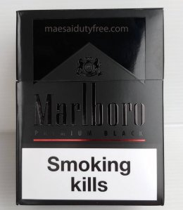 Marlboro Premium Black Limited  (ซองแข็ง)