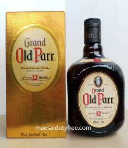 Old Parr 12 Year Old  40%