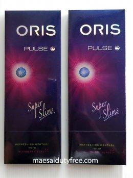 Oris Pulse Menthol + Blueberry Blast 1เม็ดบีบ