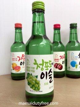 Jinro Green Grape Soju 13%