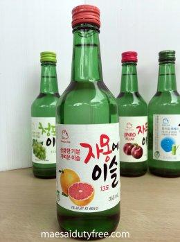 Jinro Grapefruit Soju 13%