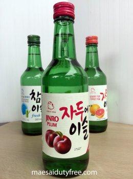 Jinro Plum Soju 13%