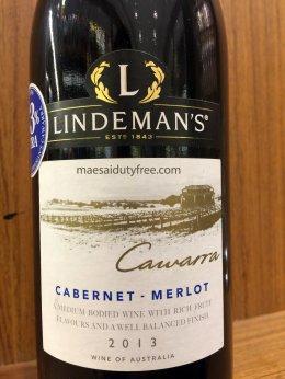 Lindeman's Cawarra Cabernet Merlot (13.5%)