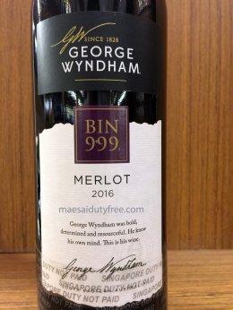 George Wyndham Bin 999 Merlot