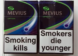Mevius Option กลิ่นบลูเบอรี่ (Japan)
