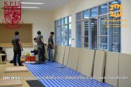 เบาะติดผนังกันกระแทกห้องเรียนเด็กเล็ก