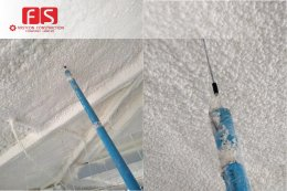 โครงการ ไซมิส สุขุมวิท 87 งานพ่นฉนวนกันความร้อน FS PU Foam Insulation