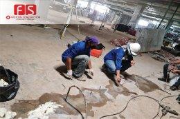 งานฉีด PU Foam Insulation