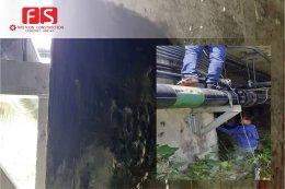 งานซ่อมผนังคอนกรึต Water Tank BOCC,Work Shop สมุทรปราการ