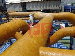งาน ปรับปรุง ซ่อม  Renovateท่อเหล็ก