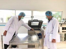 บรรยากาศการตรวจประเมินรับรองระบบมาตรฐาน GMP อย. :  มหาวิทยาลัยสงขลานครินทร์ วิทยาเขตปัตตานี