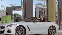 ให้เช่ารถ BMW Z4 ถ่ายโฆษณาปั้มบางจาก เคมเปญ หลงบางจาก