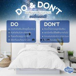 ที่นอนซินด้า แนะเคล็ดแต่งห้องนอนเสริมดวงการทำงานให้ราบรื่น