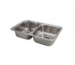 อ่างล้างจาน 2 หลุม