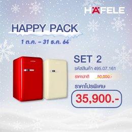โปรโมชั่น ตู้เย็น ลดราคา 1 แถม 1 - Happy Pack