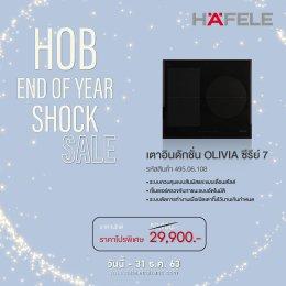 โปรโมชั่นเตาแก๊ส Hob End of Year Shock Sale