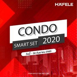 โปรโมชั่น เตาแก๊สและเครื่องดูดควัน เฮเฟเล่ - Condo Smart Set 2020