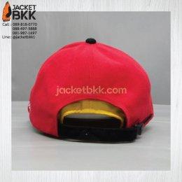 หมวกแก๊ปสีแดงดำ - ขอบคุณลูกค้า #iflix