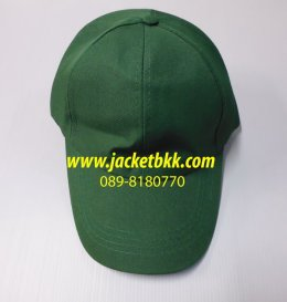 หมวกแก๊ปผ้าลีวายสีเขียว รด.
