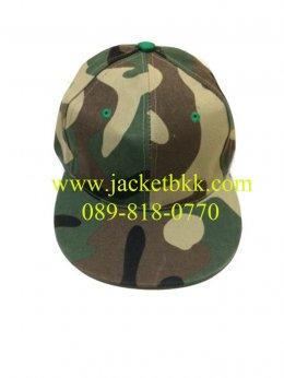 หมวกฮิปฮอป ลายทหาร