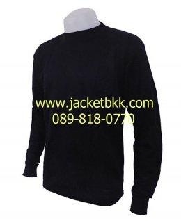 เสื้อคนงานแขนยาว-สีดำ