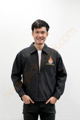 เสื้อแจ็คเก็ตสีดำ2